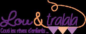 Logo Lou & tralala coud les rêves d'enfants