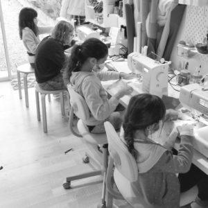 cours de couture enfants Lou & tralala