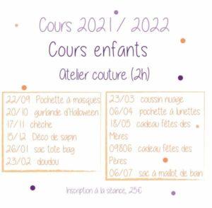 Atelier couture enfants - Lou & tralala