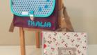 Cartable maternelle fait main et personnalisé