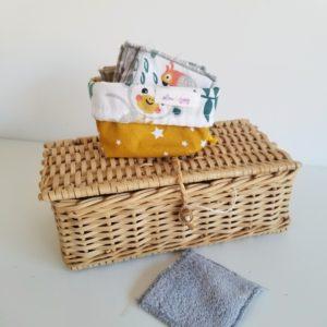 Lingettes démaquillantes lavables - Lou & tralala